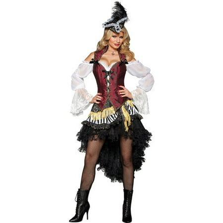 High Seas Treasure Adult Halloween Costume - Treasure Map Costume