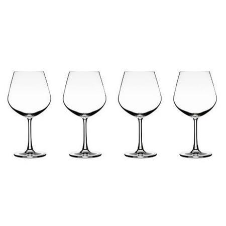 Elite Vivere Glassware, Set of 4, Burgundy