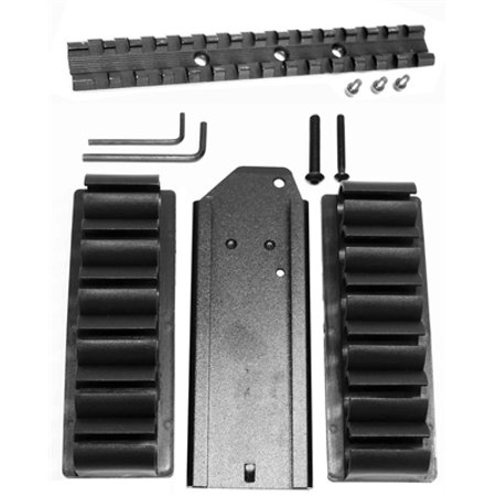 H&R 1871 pardner pump 12 gauge Shell Holder and rail adapter