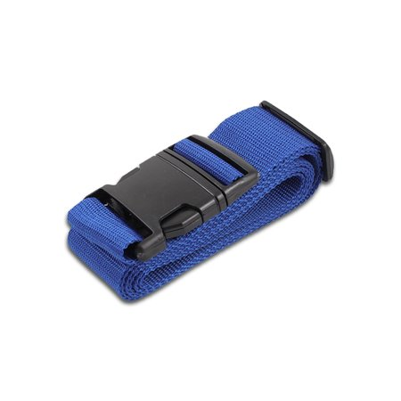 HeroFiber Blue Luggage Belts Suitcase Straps Adjustable and Durable, Travel Case Accessories, 1