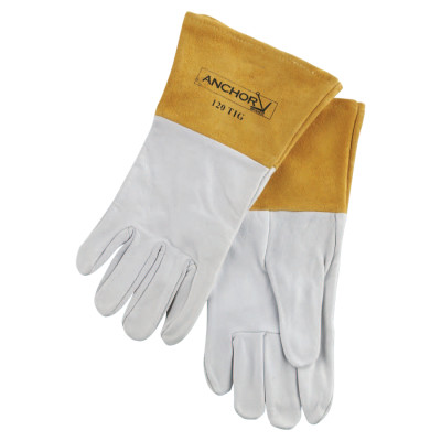 110 Tig Welding Gloves, Capeskin, Large, White