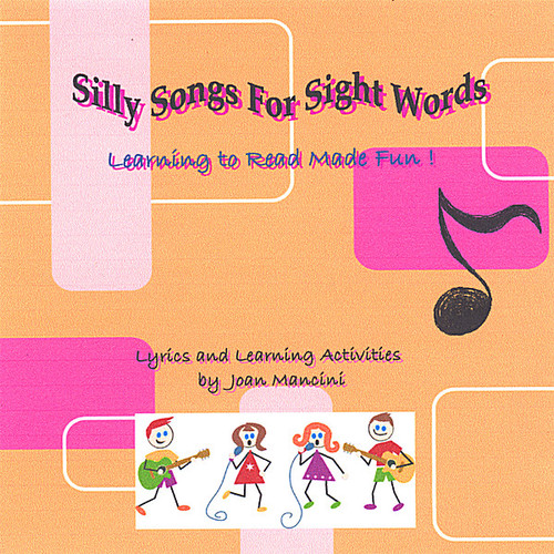 Joan Mancini - Silly Songs for Sight Words [CD]