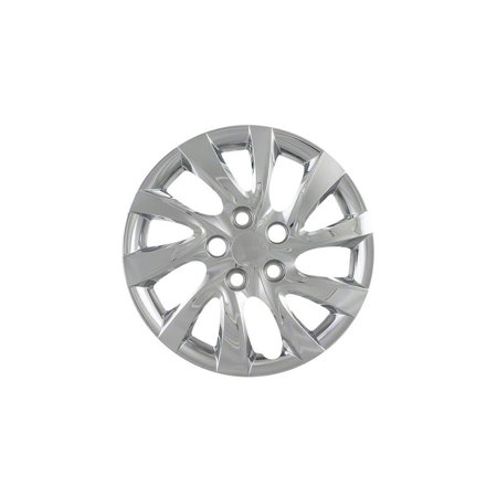 Cci Fits  2011-2014 Hyundai Elantra -10 Directional Spoke Chrome Wheel Covers - Ten Spoke Wheel
