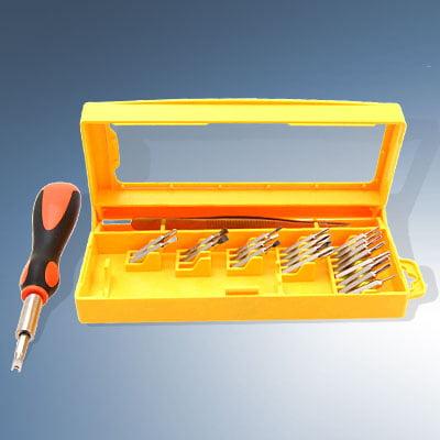 handy repair tool 20 detachable bits screwdriver set. Black Bedroom Furniture Sets. Home Design Ideas