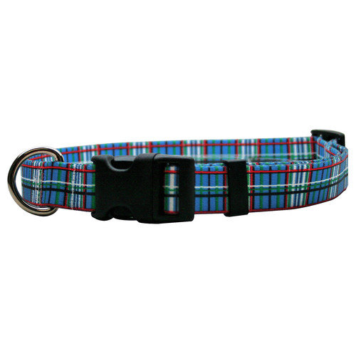 Yellow Dog Design Tartan Standard Collar - Medium