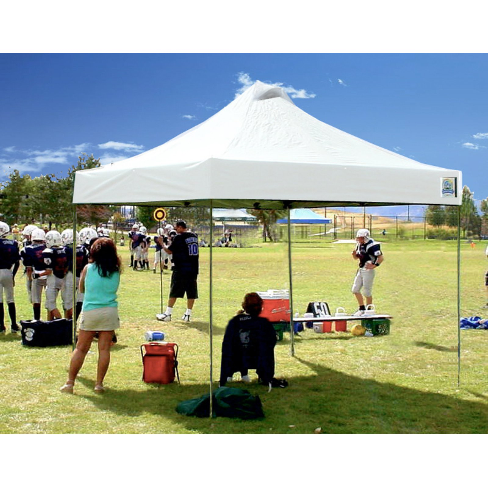 Undercover Aluminum 8 x 8 ft. Super Lightweight Pop-Up Canopy