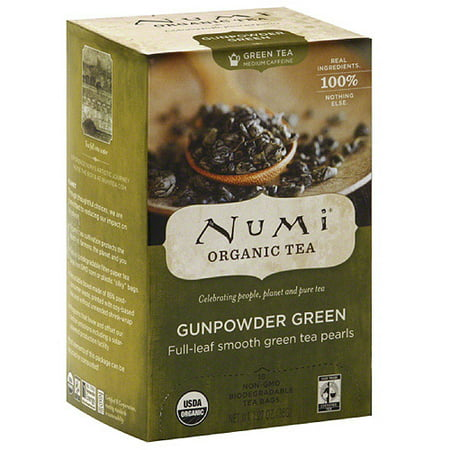 Numi Organic Gunpowder Green Tea,