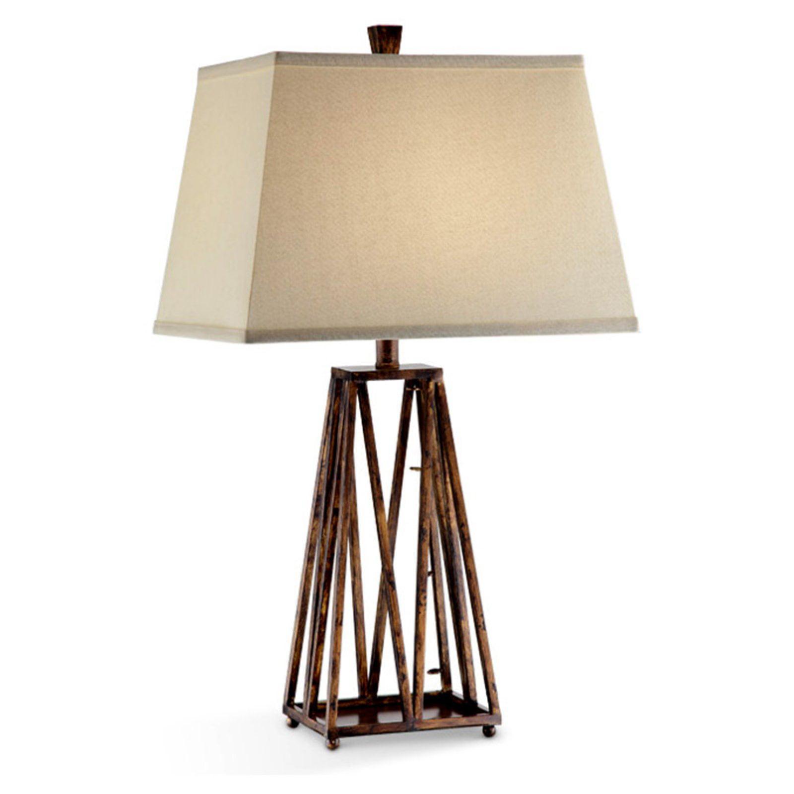 "Ore International 31"" Isosceles Table Lamp"