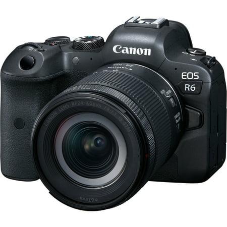 Canon EOS R6 Full-Frame Mirrorless Camera + RF24-105mm F4-7.1 is STM Lens Kit