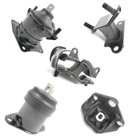 2003-2007 Honda Accord 3.0L Engine Motor & Trans Mount Set 5PCS for Auto Transmission A4517, A4527HY, A4544, A4524, A4525