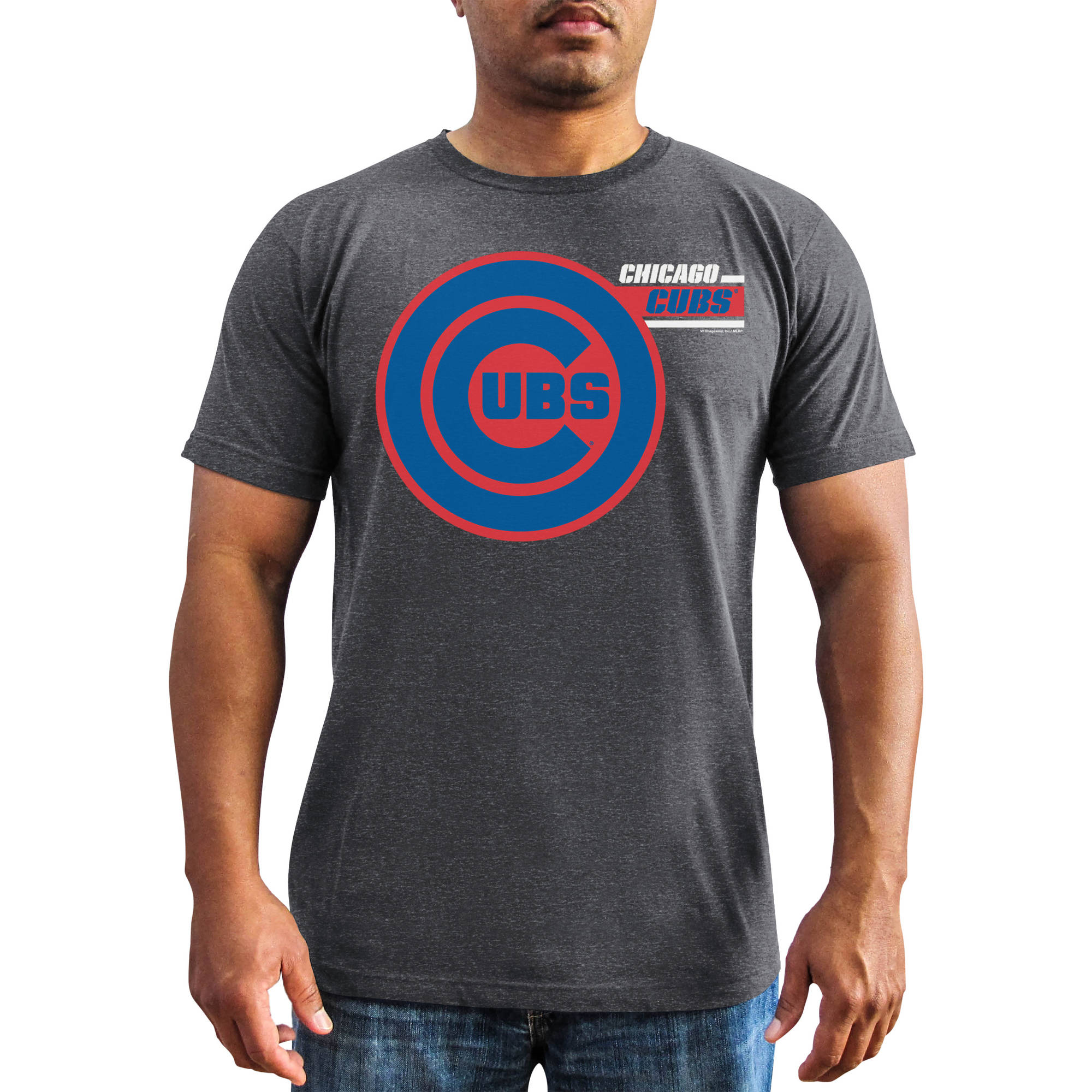 MLB - Mens Chicago Cubs Short Sleeve Team Tee