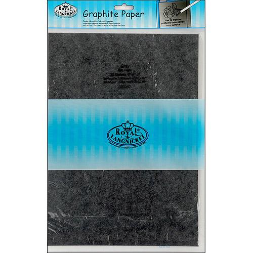 "Royal Brush Grey Transfer Paper, 9"" x 13"", 20/Pkg"
