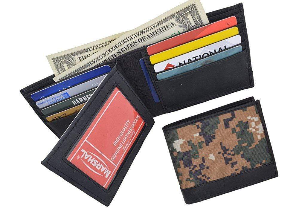 New RFID Blocking Soft Genuine Leather Multi Credit Card Holder Wallet