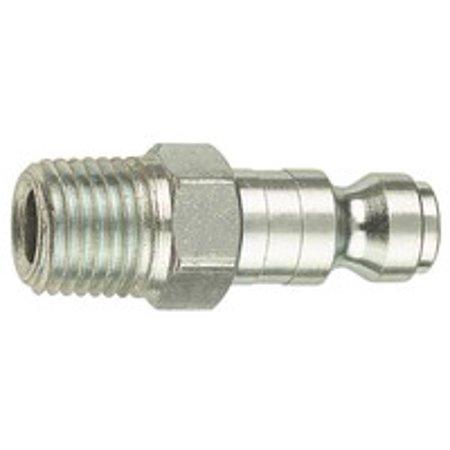 Tru-Flate 12-605 Air Line Plug, 3/8 in, MNPT, 300 psi - image 1 de 1