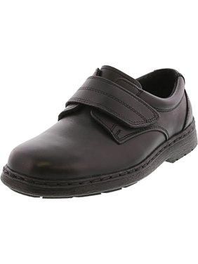 School Issue Eddie H&Amp;Amp;L Black Ankle-High Leather Loafer - 4W
