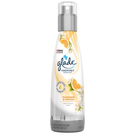 Glade Essentials Room Mist 1 CT, Mandarin & Mimosa, 6.2 OZ. Total, Air Freshener
