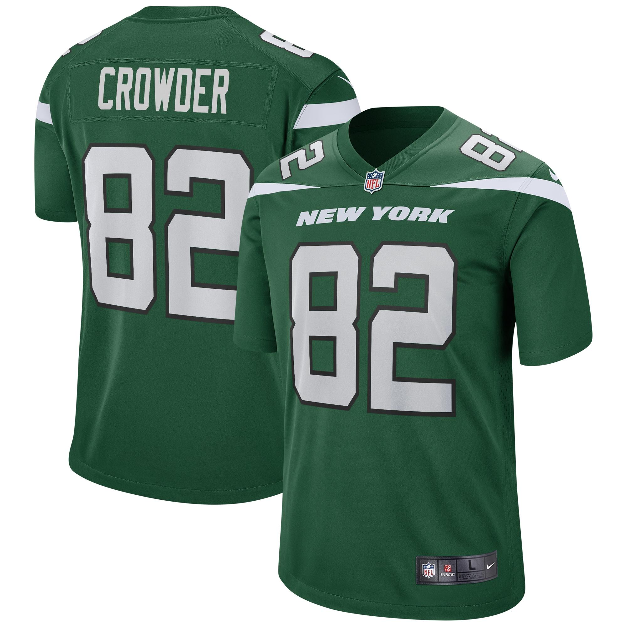 Jamison Crowder New York Jets Nike Game Jersey - Gotham Green - Walmart.com