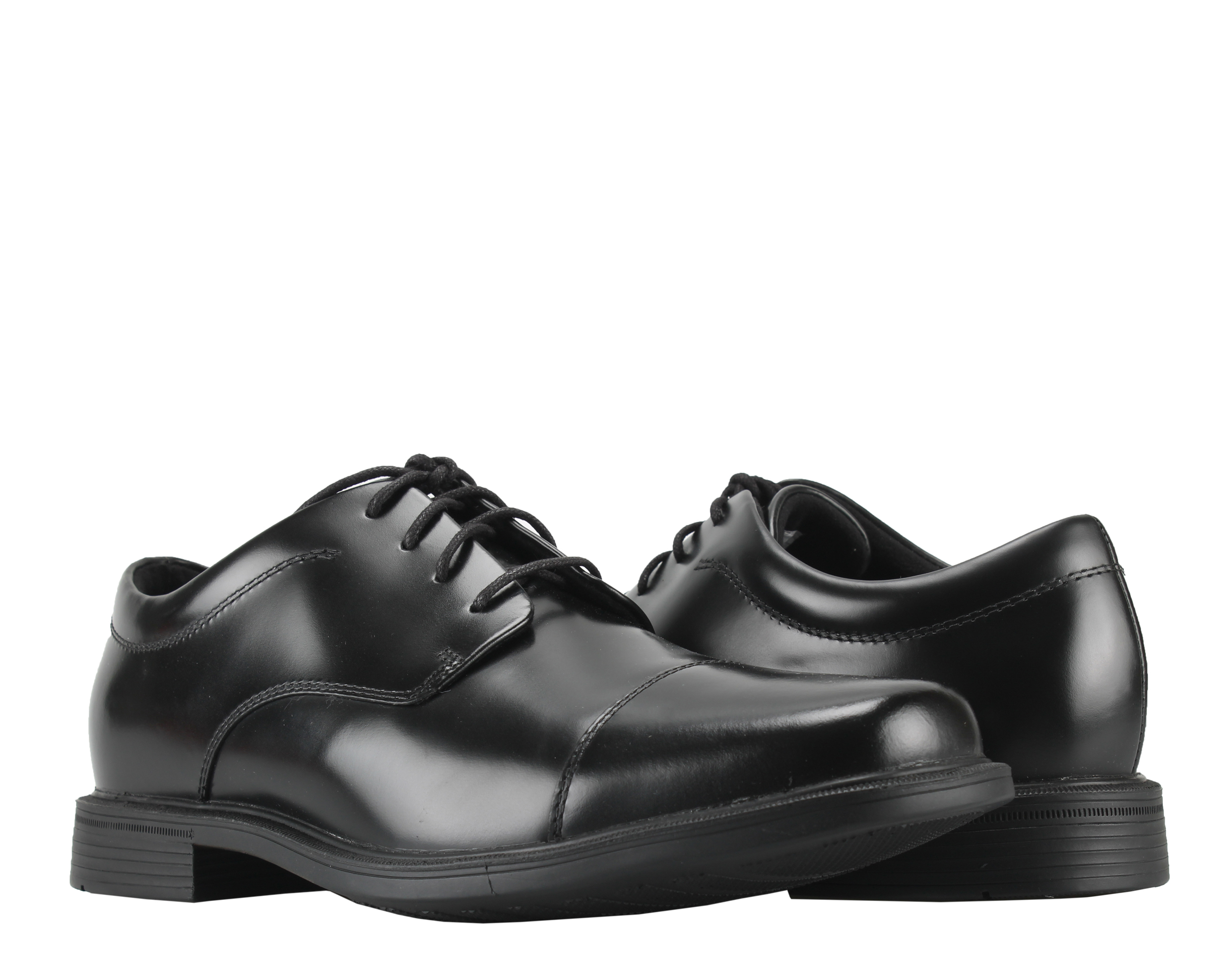 Rockport Ellingwood Cap Toe Black Men's Dress Shoes K71016 by