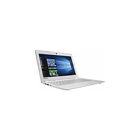 Lenovo Ideapad 110s 11.6 inch HD Flagship White Laptop PC  Intel Celeron N3060 1.60 GHz Dual-Core  2GB RAM  32GB eMMC  