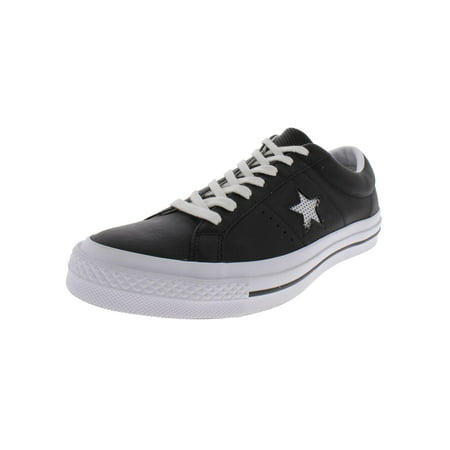 Converse Mens One Star Ox Leather Low Top Skate Shoes - Converse Personalised