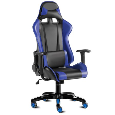 Costway High Back Racing Style Gaming Chair Reclining