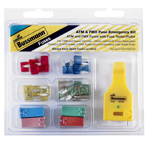 ATM and FMX Fuse Emergency Kit by Generic