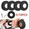 5/10PCS High Temperature Resistance Adhesive Cloth Tape for Cable Harness Car Auto Heat Sound Isolation Please note, this item ships from an international seller. Expected delivery is 10-15 days.Feature:1.high quality and 100% new brand2. Ideal for professional use or at home.3.This cloth tape is used to harness looms in car manufacturers.4.It's slightly adhesive to one side. Product number - 516085.Roll size is 15m lenght x 19mm widthTotal Length: Approx. 25mWidth: Approx. 19mmThickness:0.3mmPackage Include:5/10PCS x Harness TapeNote:1.Please allow 1-3 cm error due to manual measurement and make sure you do not mind before ordering.2.The color of the actual items may slightly vary from the above images due to different computer screen, thanks for your understanding.3.1 Inch = 2,54 cm, 1 cm = 0,39 Inch.