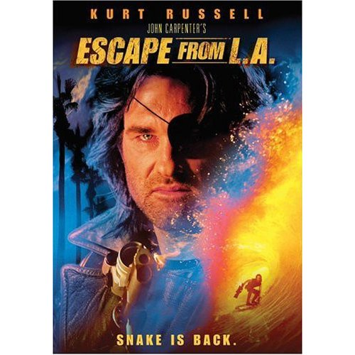 Escape From La [dvd][ws/dolby Digital Eng 5.1 Surround/span Sub/ (paramount Home Video)