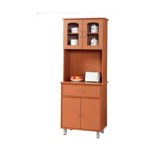 Hodedah Kitchen Island China Cabinet by Hodedah