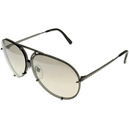 Porsche Design Sunglasses Small Aviator Special-Edition Interchangeable P8478 6310 Size: Lens/ Bridge/ Temple: (Sunglasses P 8478)