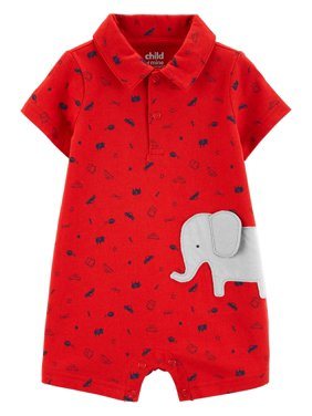 93947581141 Product Image Short Sleeve One Piece Romper (Baby Boys)