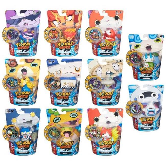 Hasbro HSBB5937 Yokai Medal Moments Assorted, Pack of 8 by Hasbro