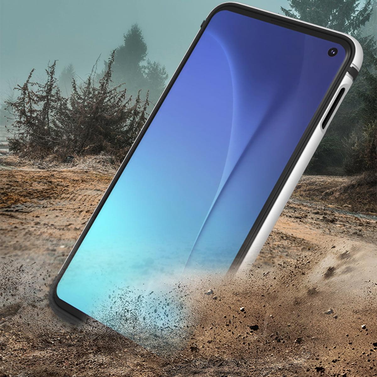 Blau Bakicey H/ülle f/ür Samsung Galaxy S10 Lite H/ülle HandyH/ülle 3 in 1 Ultra D/ünn Design Kratzfest Matt Schutzh/ülle Hart Plastik Hybrid Case Slim Hardcase R/ückseite Handytasche Cover