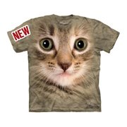 Kitten Face Youth T-Shirt by The Mountain - 15-3353