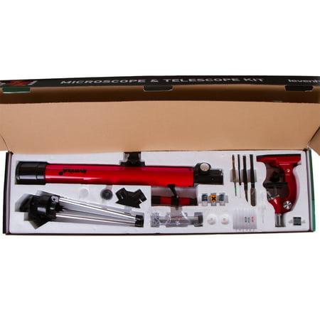 Levenhuk 69299 LabZZ MT2 Microscope & Telescope Kit For children Over 6 Year (Telescopes For Kids)