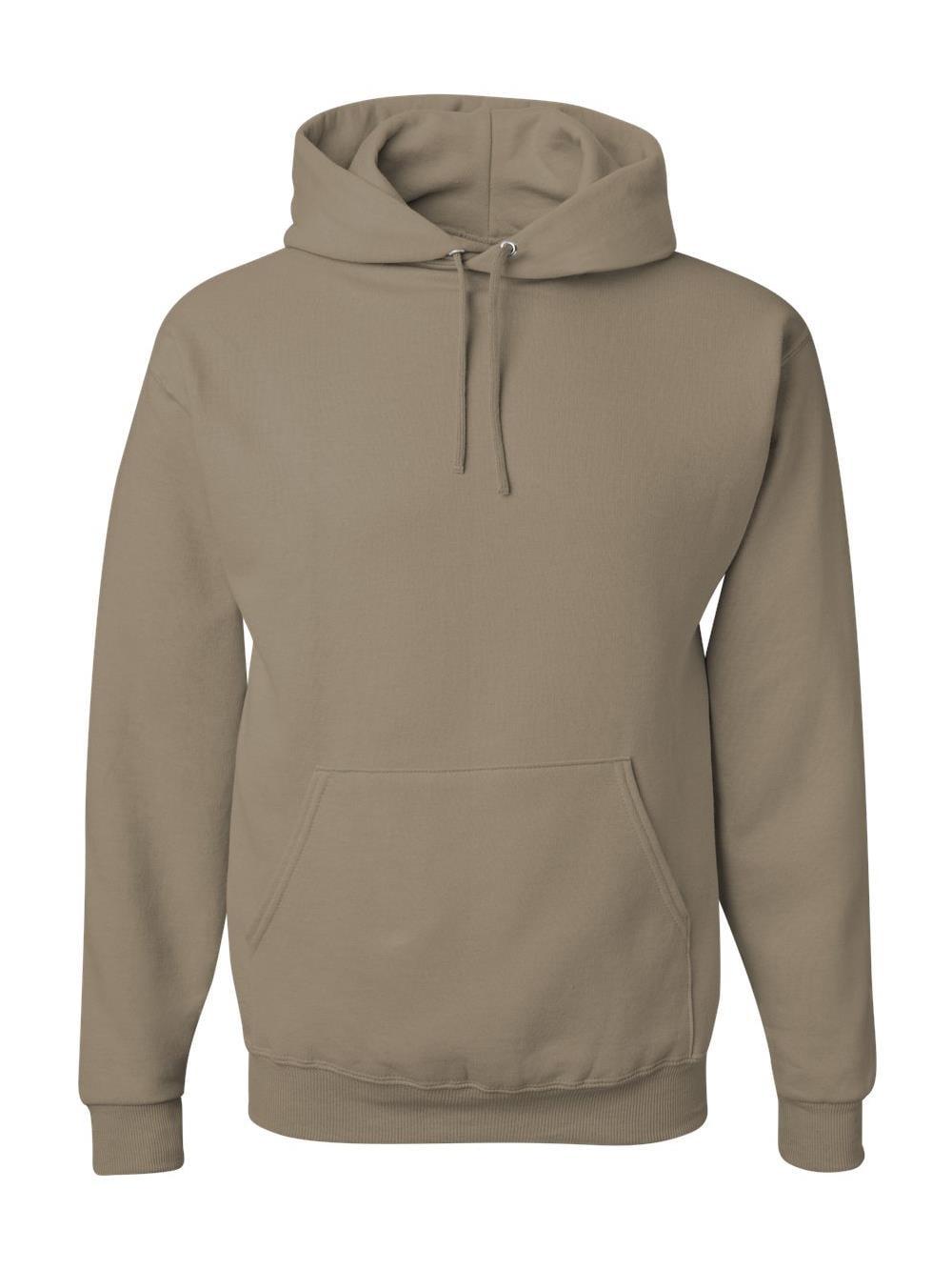 Jerzees Mens NuBlend Pull Over Hooded Sweatshirt, 5X, Light Blue