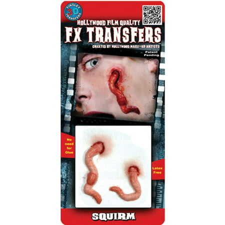 Professional 3D Tattoo Squirm Adult Halloween Accessory - Professional Costume Rental