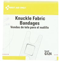 First Aid Only 1-1/2 in. X 3 in. Knuckle Fabric Bandage, 40 Count Box