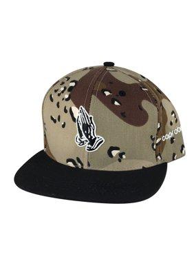fefbb22721df62 Product Image CapRobot Men Pray Hand 3D Snapback Hat Cap - Camo Black Visor