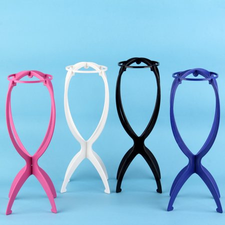 Hot Sale Folding Plastic Stable Durable Wig Hair Hat Cap Holder Stand Display Tool