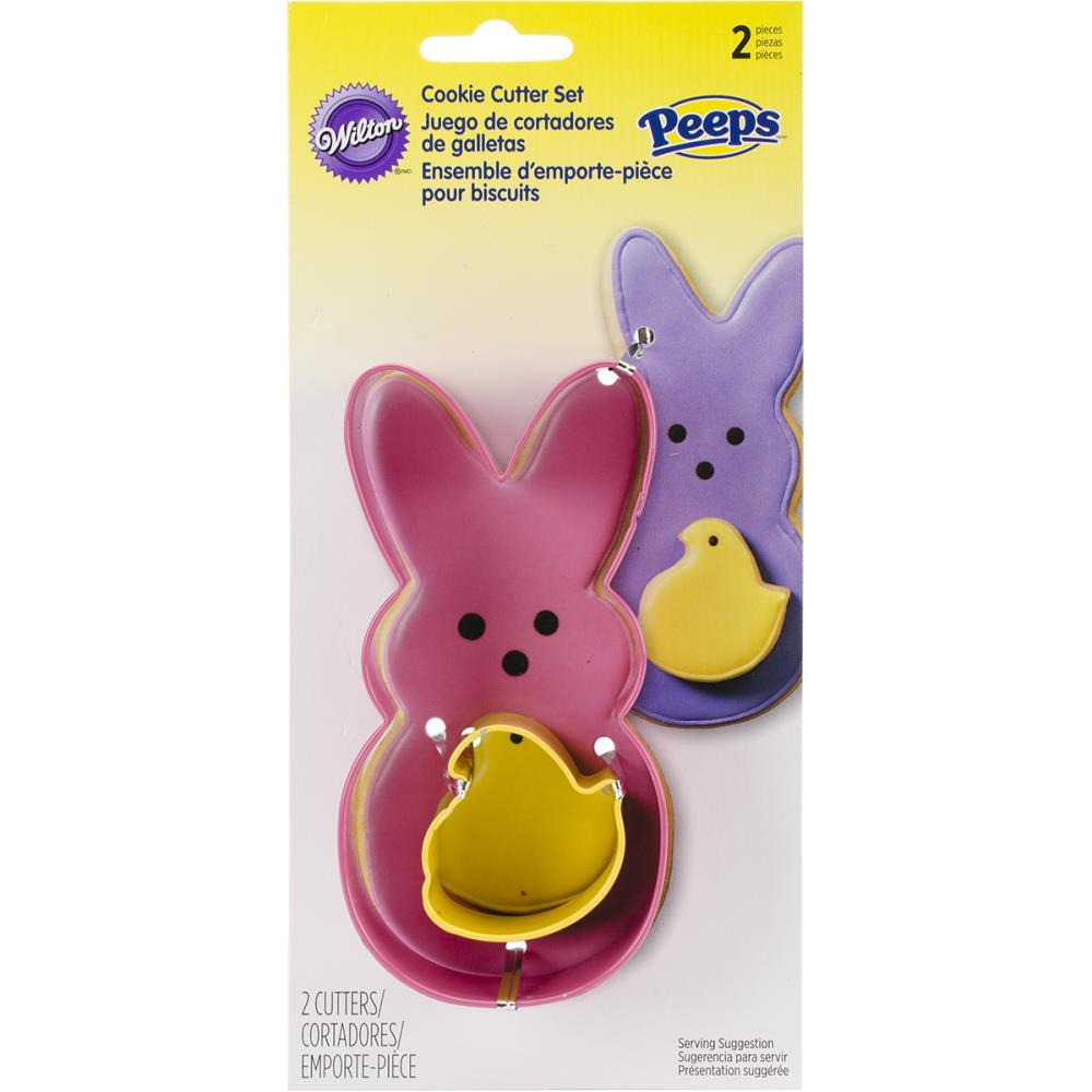 Cookie Cutter Set 2Pc-Peeps