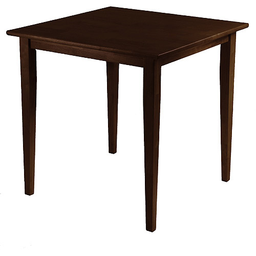 Groveland Square Dining Table, Antique Wanut