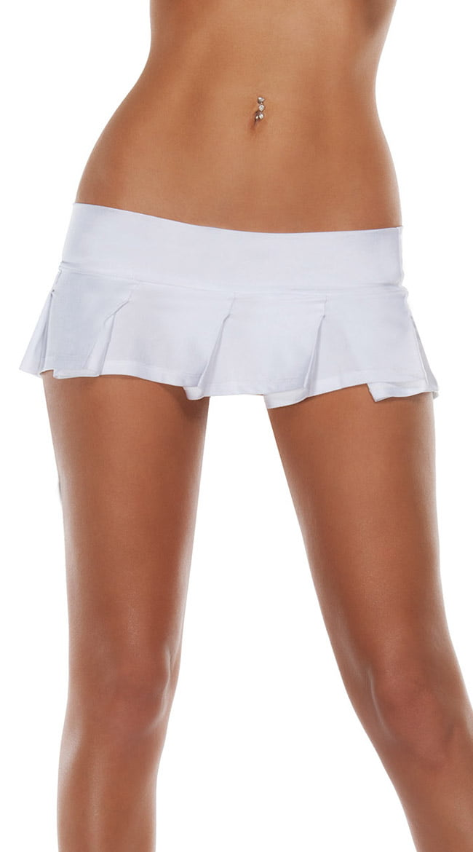 Starline Costumes Pleated Solid Mini Skirt