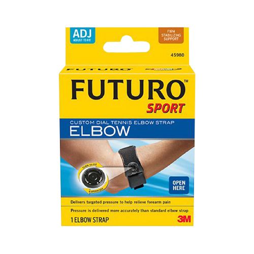 Futuro Sport Custom Dial Tennis Elbow Strap, Adjustable - 1 Ea