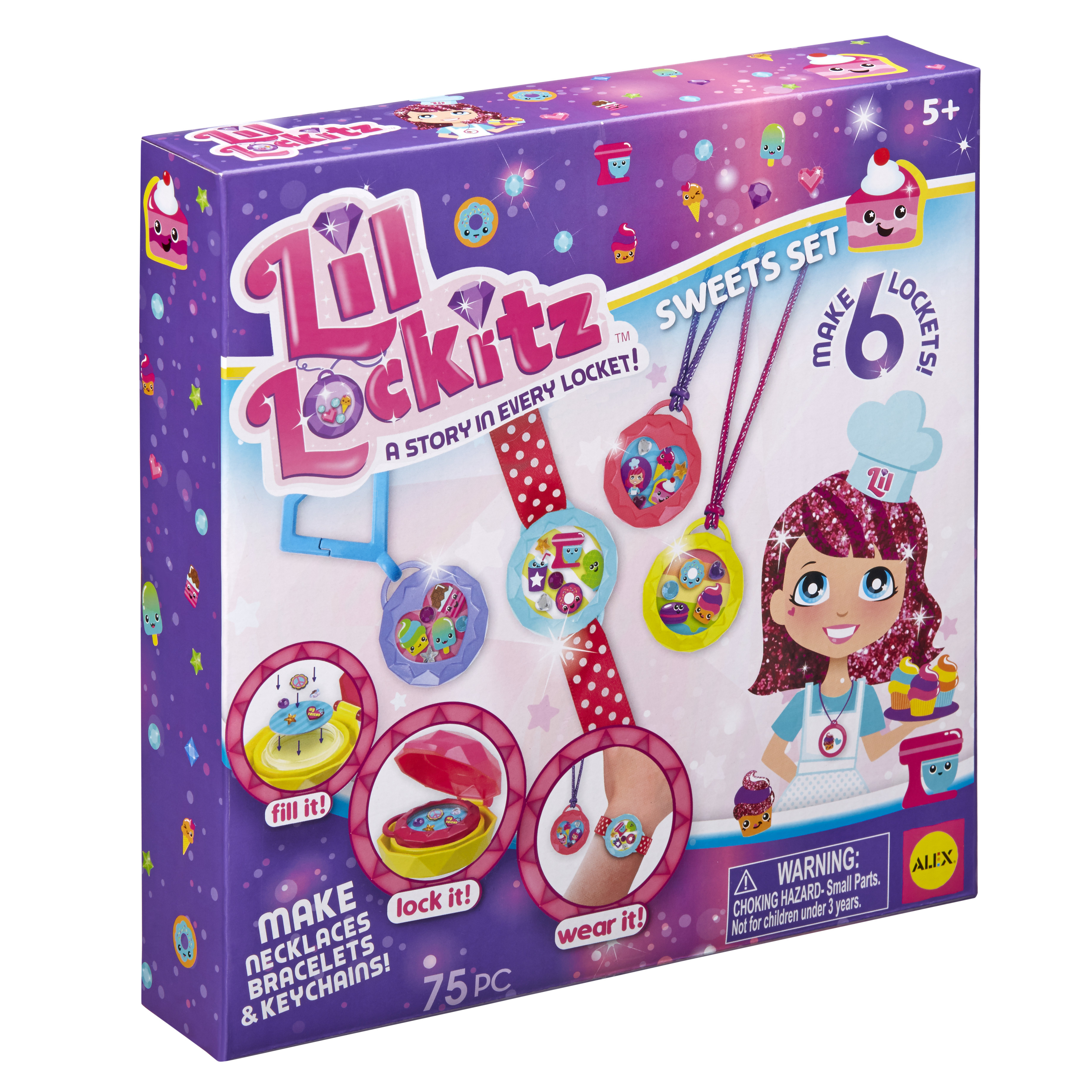 Lil Lockitz Sweets Set