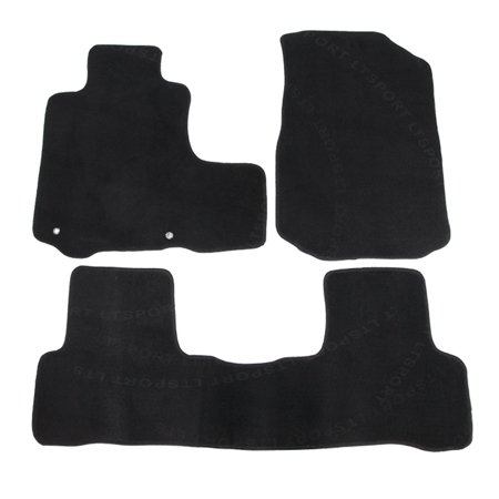 Fit 07-11 Honda CRV Custom Premium Nylon Black Floor Mats Carpet For 2006 2007 2008 2009 2010 07 08 09 10 11 Honda