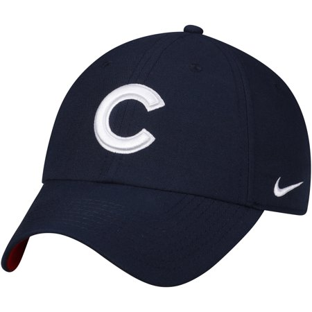 Chicago Cubs Nike Heritage 86 Stadium Independence Day Adjustable Hat - Navy -