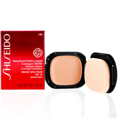 5322eb0a1 SHISEIDO ADVANCED HYDRO-LIQUID COMPACT FOUNDATION REFILL (160) 0.42 OZ (12  ML) Makeup Face - Walmart.com
