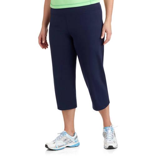 Danskin Now Womens Plus Size Dri More Core Capri Pants