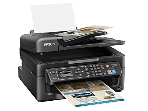 Epson WorkForce WF-2630 Wireless Business AIO Color Inkjet, Print, Copy, Scan, Fax, Mobile Printing, AirPrint, Compact S by Epson